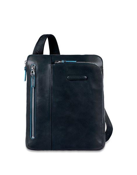 Piquadro CA1816B2 Borsello porta iPad/iPad®Air, in pelle Blu