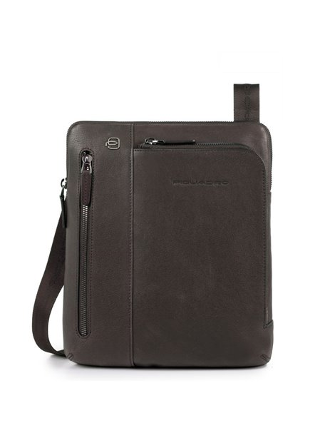 Piquadro CA1816B3 Borsello porta iPad®Air/Pro 9,7 in pelle Testa di moro