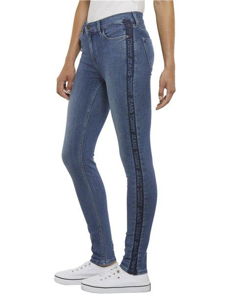 TOMMY JEANS Denim Jeans Skinny in cotone stretch DW0DW0 6346