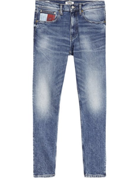 TOMMY JEANS DM0DM07489 JEANS TAPERED UOMO MID BLU