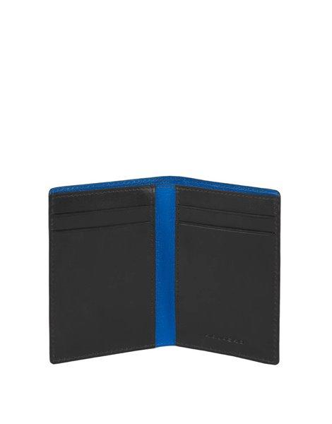 Piquadro PP4769BOR Porta carte di credito nero
