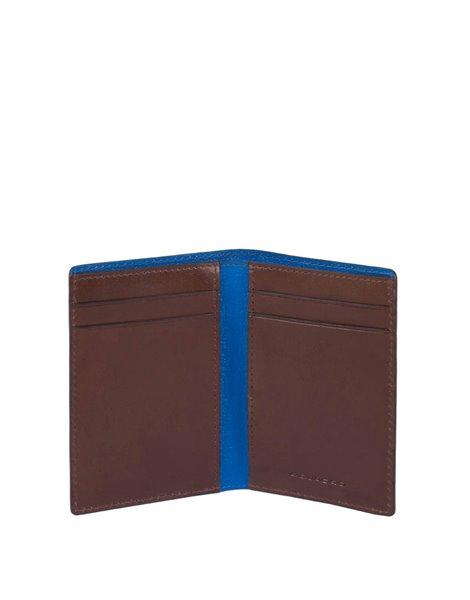 Piquadro PP4769BOR Porta carte di credito marrone