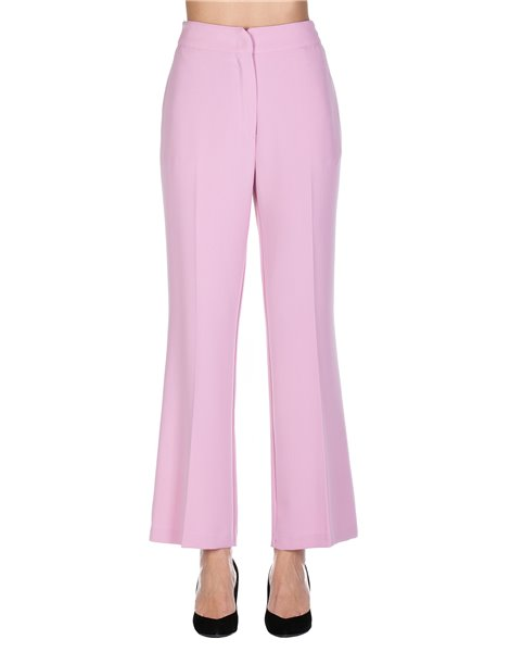 KAOS MP1CO011 PANTALONE A TROMBETTA ROSA