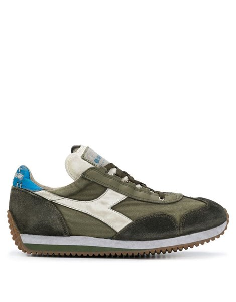 DIADORA EQUIPE H DIRTY STONE WASHED SNEAKERS VERDE