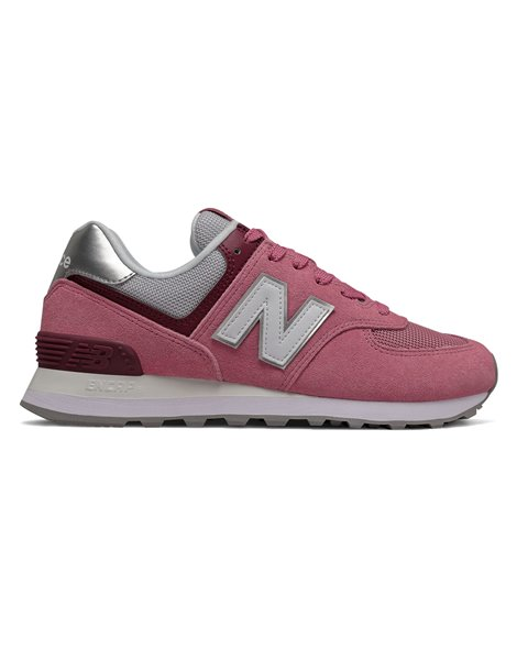 NEW BALANCE WL574 SOR SNEAKERS DONNA ROSA SCURO