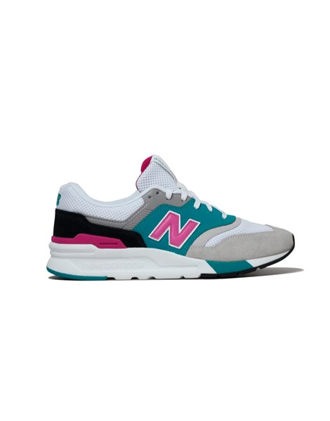 NEW BALANCE CM997HZH SNEAKERS TURCHESE E BIANCO
