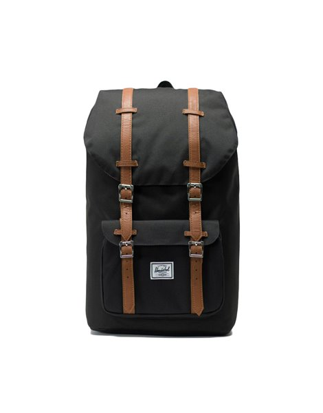 HERSCHEL LITTLE AMERICA BACKPACK ZAINO NERO