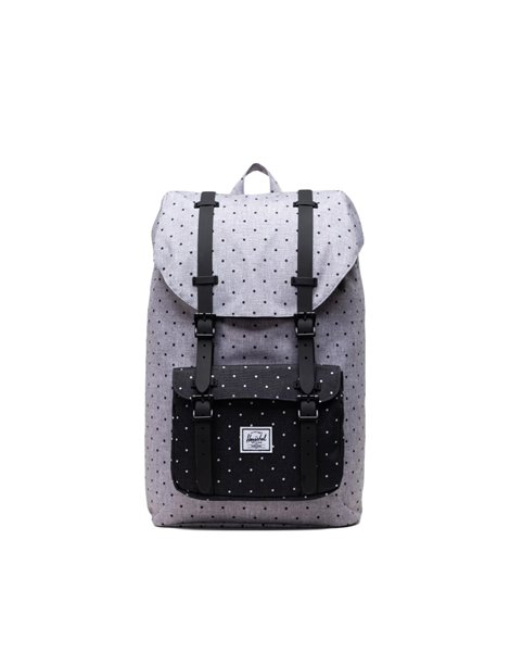 HERSCHEL LITTLE AMERICA MID BACKPACK ZAINO GRIGIO