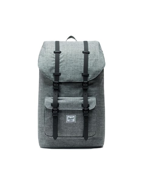 HERSCHEL LITTLE AMERICA BACKPACK ZAINO GRIGIO
