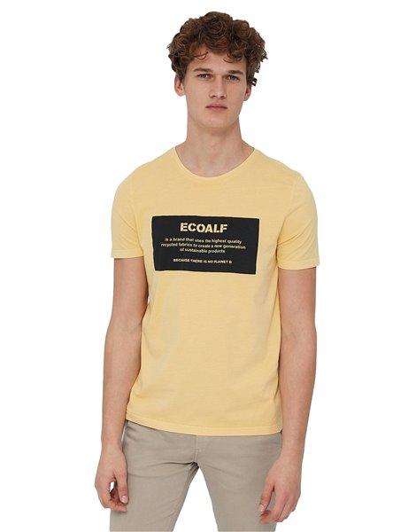 ECOALF NATAL LABEL T-SHIRT GIALLA