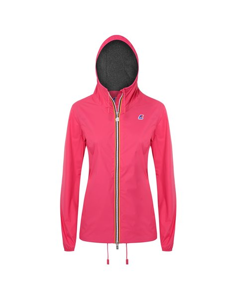 K-WAY MARGUERITE POLY JERSEY GIACCA IMPERMEABILE DONNA FUXIA