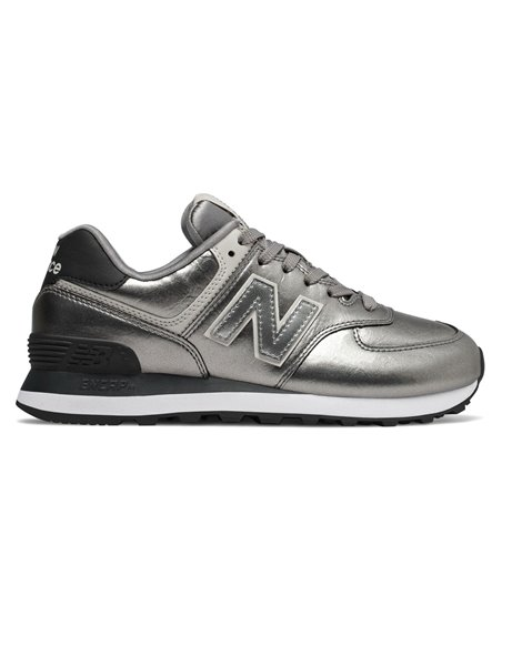 NEW BALANCE WL574WNE SNEAKERS ARGENTO