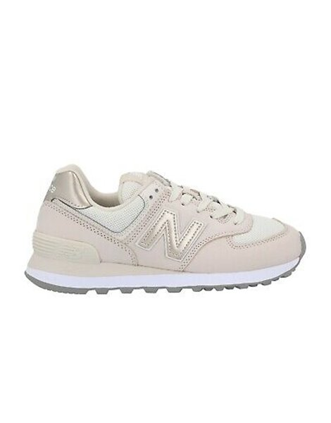 NEW BALANCE WL574WNO SNEAKERS OFFWHITE