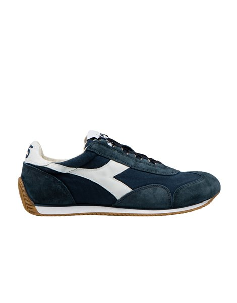 DIADORA EQUIPE H CANVAS STONE WASHED SNEAKERS BLU