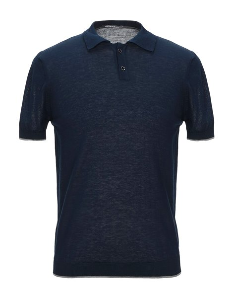 HAVANA & CO POLO MM COTONE BLU