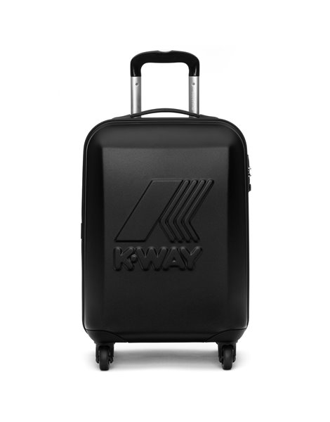 K-WAY MINI MATT TROLLEY NERO