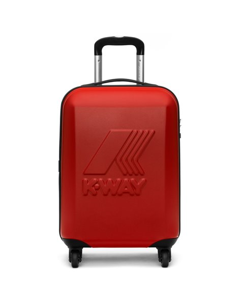 K-WAY MINI MATT TROLLEY ROSSO