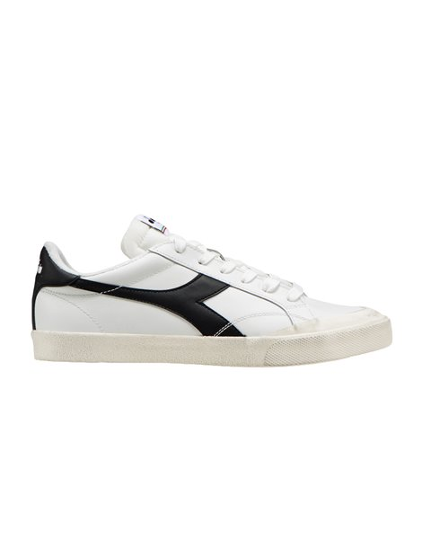 DIADORA MELODY LEATHER DIRTY SNEAKERS DONNA BIANCO