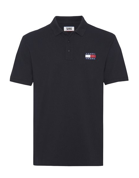 TOMMY JEANS 7456DM0 POLO MM UOMO NERO