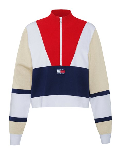 TOMMY JEANS 7994DM0 PULLOVER COLOR BLOCK DONNA