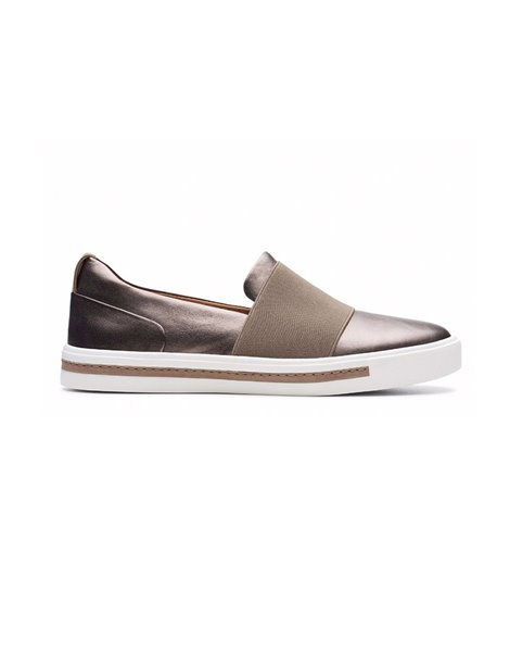 CLARKS UN MAUI STEP PEBLE SNEAKERS METALLIZZATE