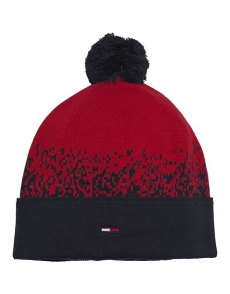 TOMMY JEANS 7236AW0 BERRETTO ROSSO