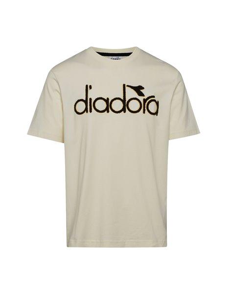 DIADORA 5PALLE T-SHIRT SS WINT UOMO BIANCA