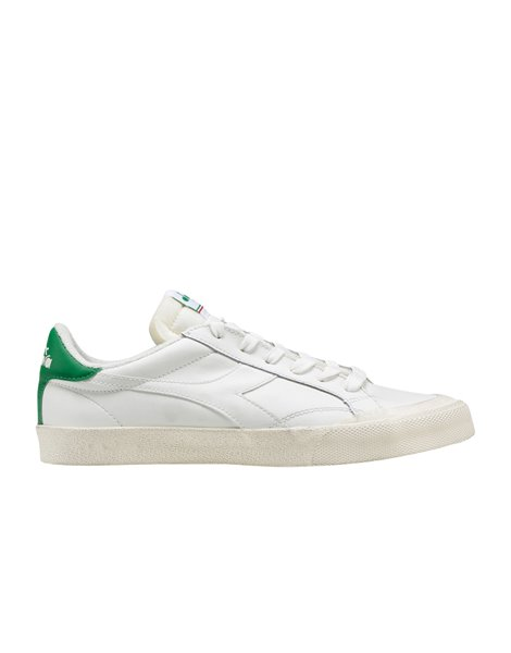 DIADORA MELODY LEATHER DIRTY SNEAKERS UOMO BIANCHE