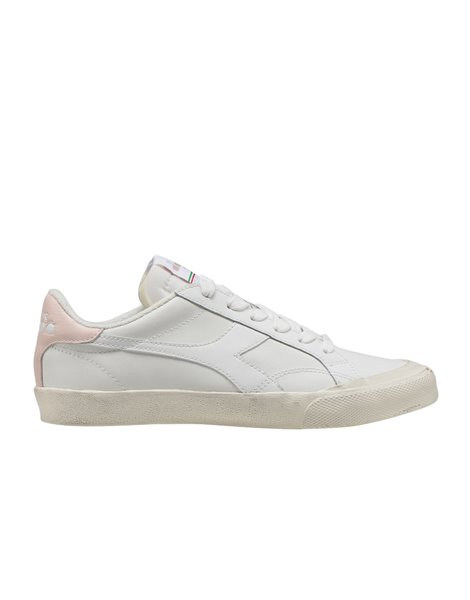 DIADORA MELODY LEATHER DIRTY SNEAKERS DONNA BIANCHE