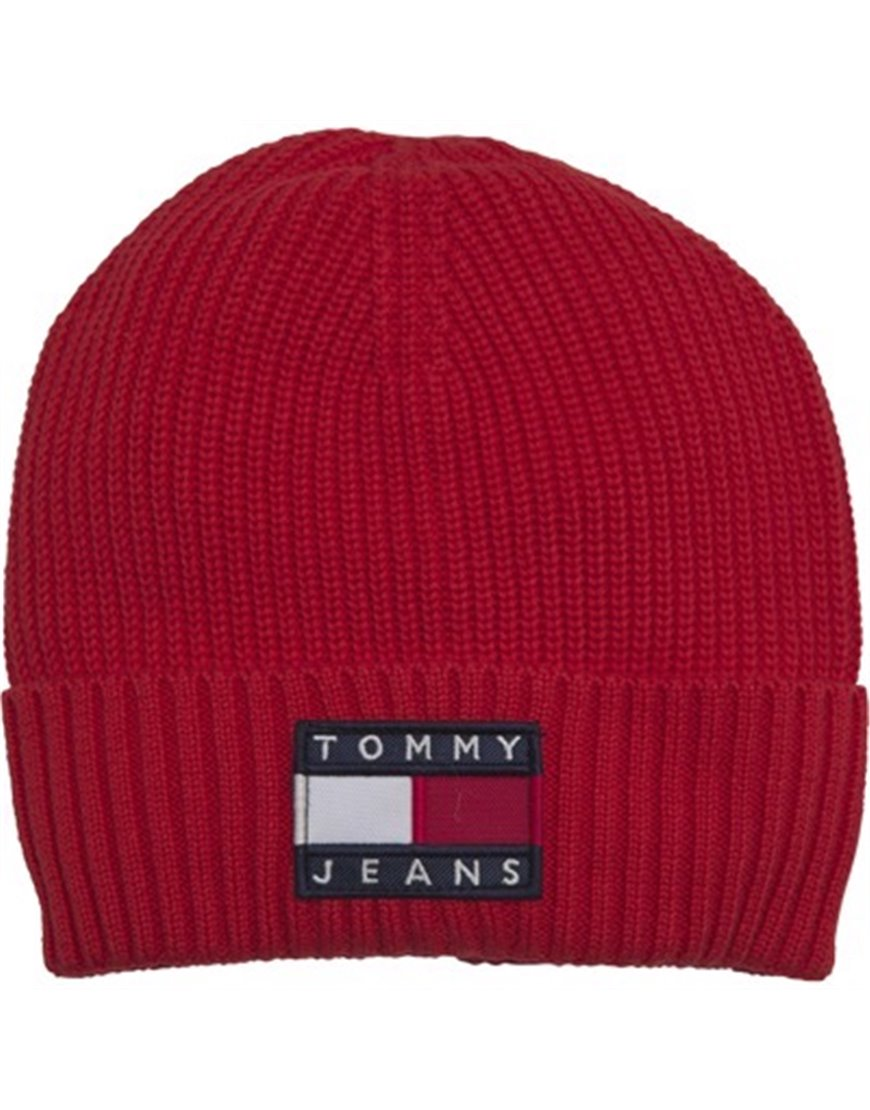 TOMMY JEANS 5447AM0 BERRETTO ROSSO