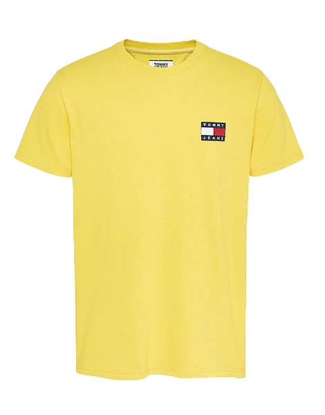 TOMMY JEANS DM06595 T-SHIRT UOMO GIALLA