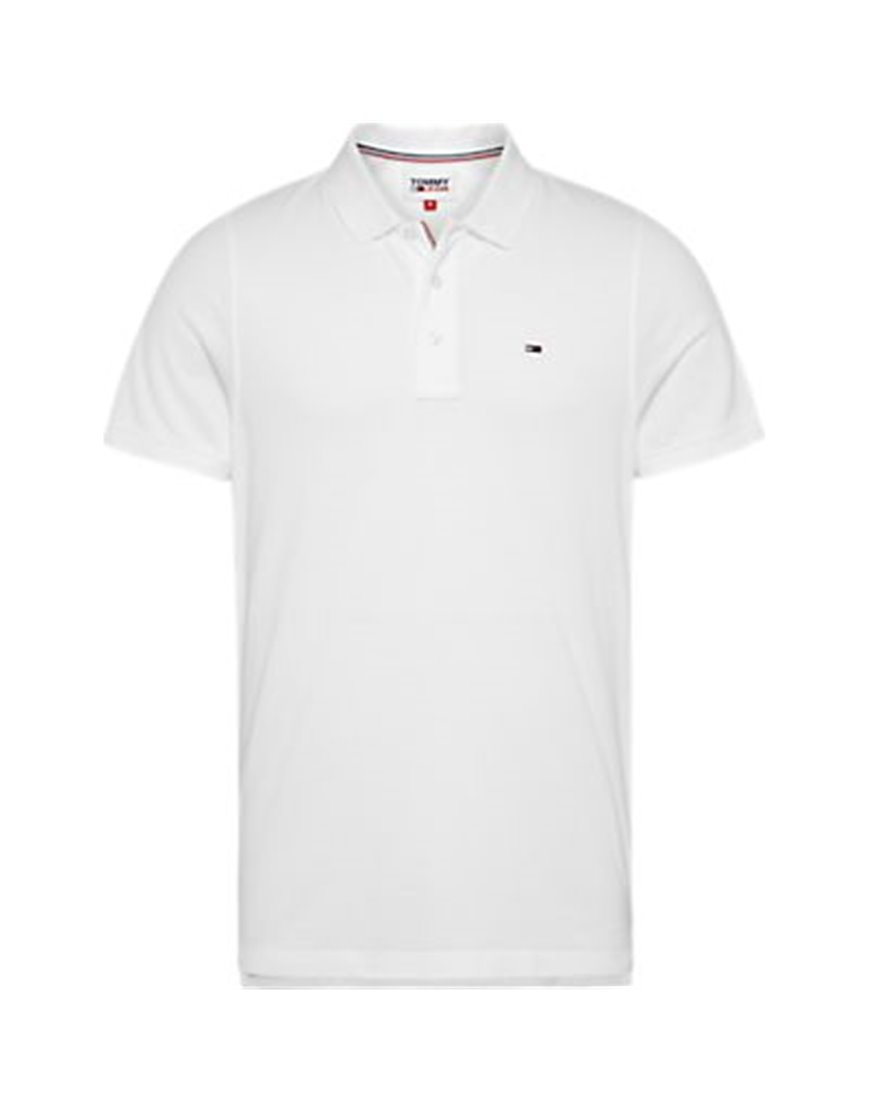 TOMMY JEANS 4266DMO POLO MM UOMO BIANCA