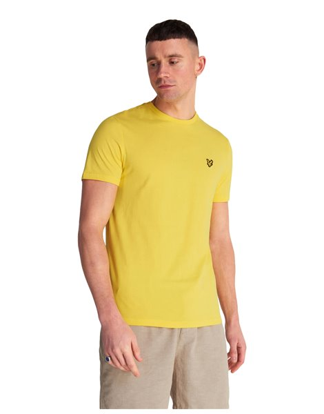 LYLE & SCOTT T-SHIRT UOMO GIALLO