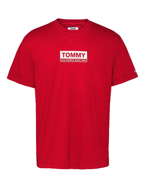 TOMMY JEANS 8364DM0 T-SHIRT UOMO ROSSA