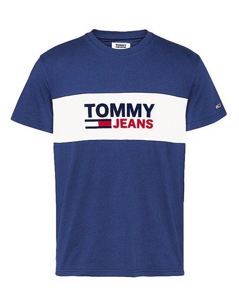 TOMMY JEANS 8360DM0 T-SHIRT UOMO BLU