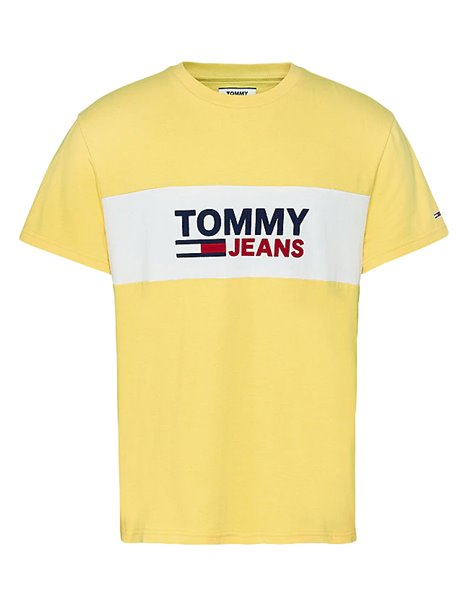 TOMMY JEANS 8360DM0 T-SHIRT UOMO GIALLA