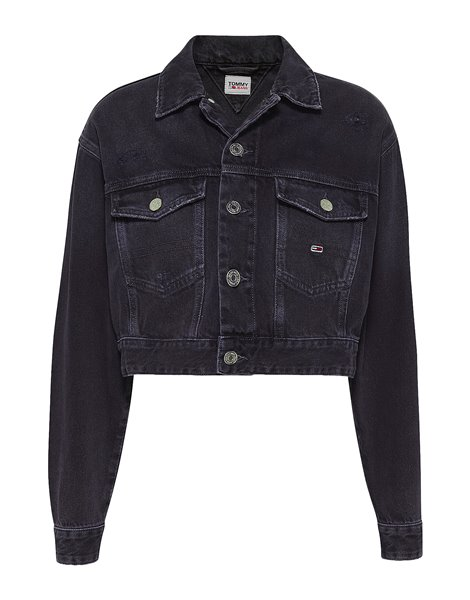 TOMMY JEANS 0071DW1 GIACCA CROP IN DENIM DONNA