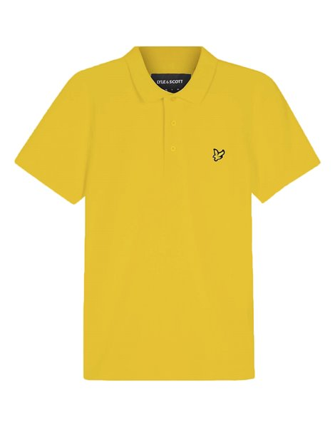 LYLE&SCOTT POLO MM STRETCH UOMO GIALLO