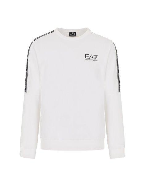 EA7 T-SHIRT ML ELASTICIZZATA UOMO BIANCO