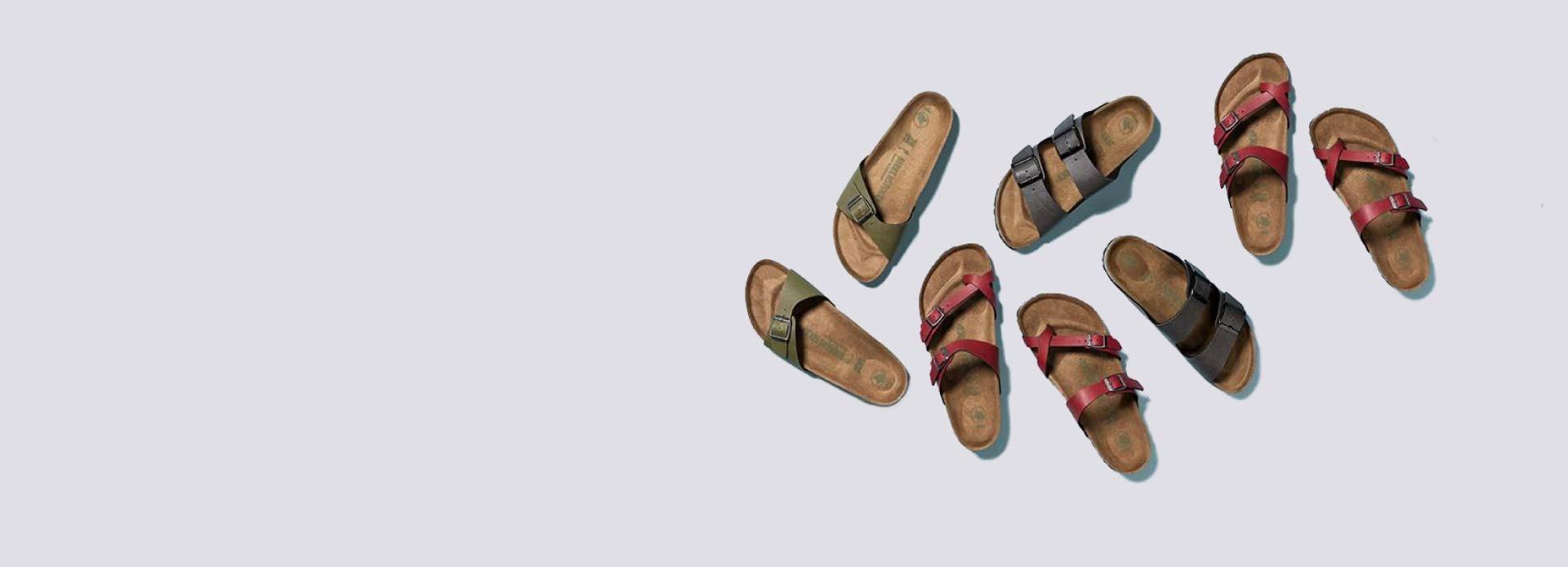Scopri tutti i modelli estivi di Birkenstock: sandali e infradito da donna e uomo.